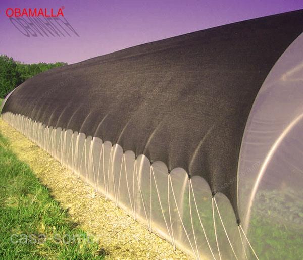 Casa Sombra sobre invernadero ayuda a mantener el calor en horas nocturnas